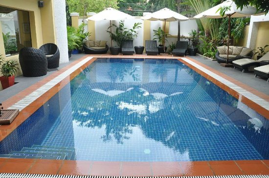 Villa Samnang Boutique Hotel: Pool