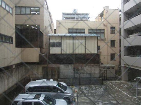 Via Inn Kyoto Shijo Muromachi: 裏は景観悪いのね