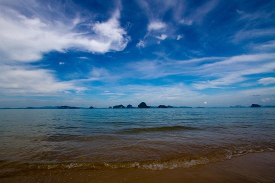 The Tubkaak Krabi Boutique Resort: View from the hotel beach
