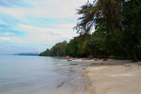 The Tubkaak Krabi Boutique Resort: Hotel beach