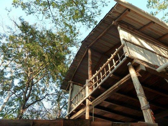 Casa de las Piedras : Casa Bambu bedroom