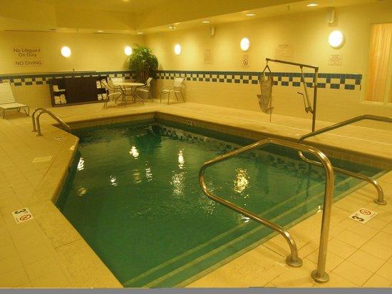 Fairfield Inn & Suites Mount Vernon Rend Lake: Indoor Pool