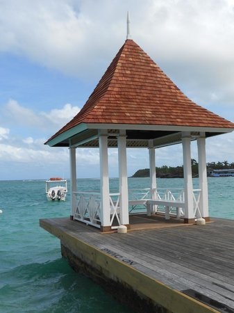 Sandals Royal Plantation : New wedding gazebo