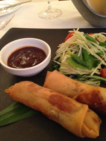 Essensia: Vietnamese spring rolls