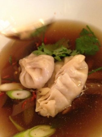 Essensia: Pho soup with dumplings