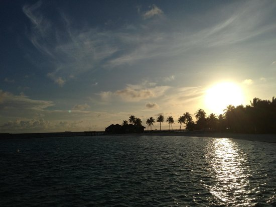 Maafushivaru: Sunrise view