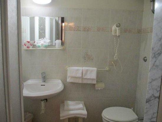 Delle Nazioni Hotel: The bathroom