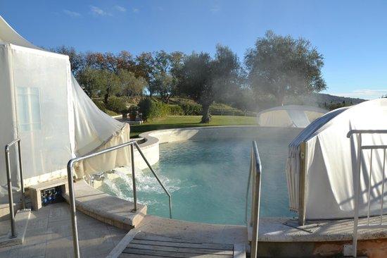 Hotel Saturno Fonte Pura: piscina termale
