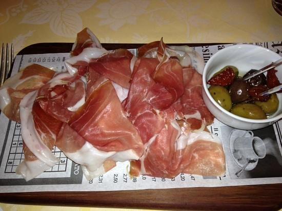 Four Seasons Hotel Prague: prosciutto