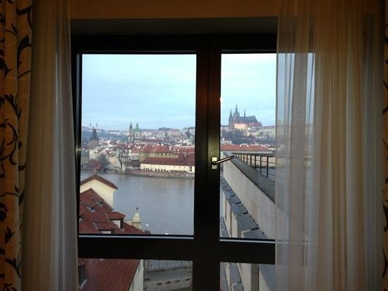Four Seasons Hotel Prague: views from room