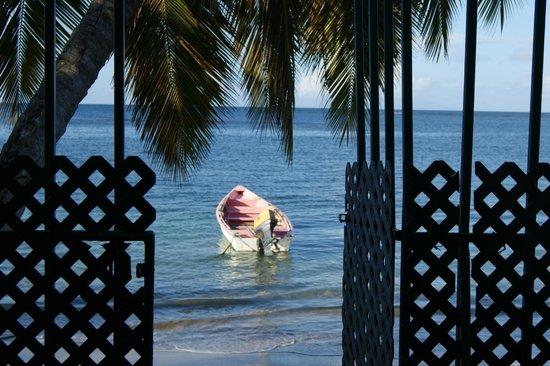 Mirage Beach Resort : ein traumhafter Blick vom Frühstückstisch