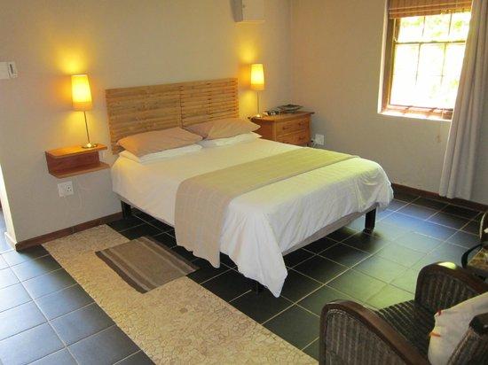 Malherbe Guesthouse: Trevligt rum i trädgårdshuset