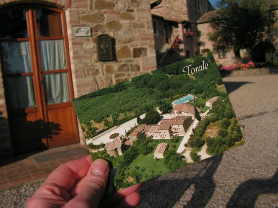 Relais Borgo Torale: Torale postcard in Torale !