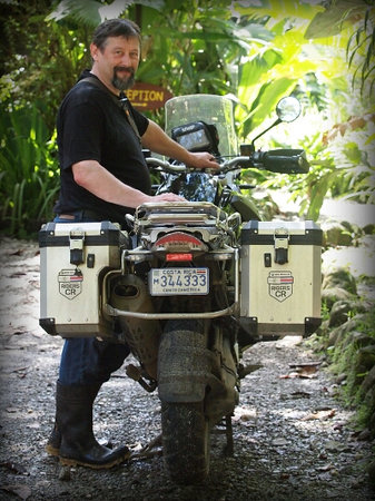 Costa Rica Motorcycle Tours: BMW @ las esquinas lodge