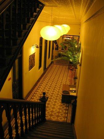 Casa Colombo: hallway