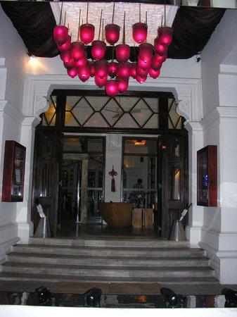 Casa Colombo: entrance
