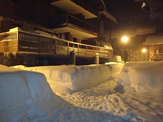 Residence CGH les Cimes Blanches - La Rosiere 1850: Christmas 2012