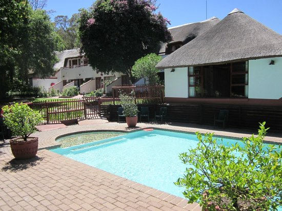 Zulu Nyala Country Manor: hübscher Pool