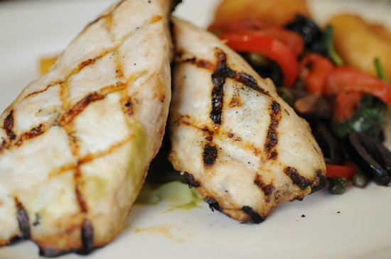 Rose and Crown: Grilled Marinated Chicken Breast.