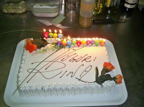dolce compleanno della zia Rin...