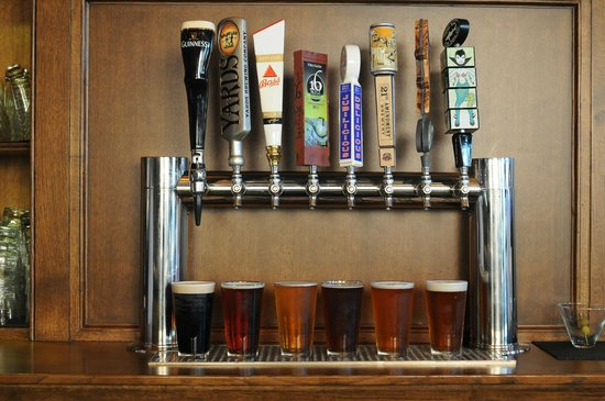 Rose and Crown: 8 Drafts on tap, including Dogfish Head & 16 Mile.