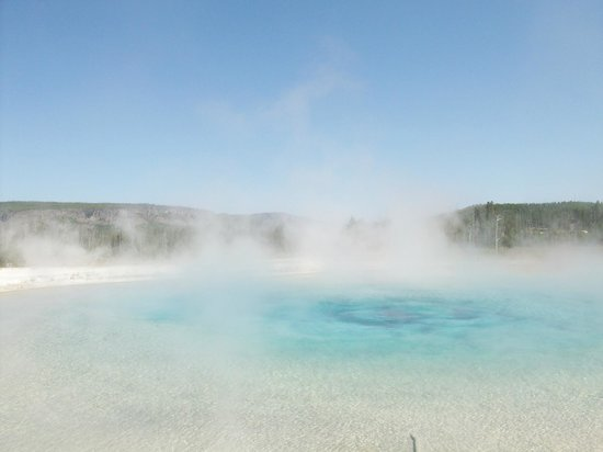 Grand Canyon of the Yellowstone: Morning in Yellowstone