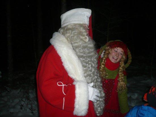Joulukka: Santa himself & Elf