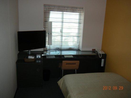 Ours Inn Hankyu: 高層階シングルの部屋