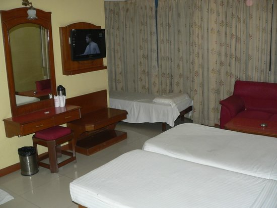 Hotel Maurya Palace : Inside view of the room
