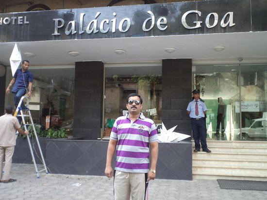 Hotel Palacio De Goa: Thomas at palacio de goa