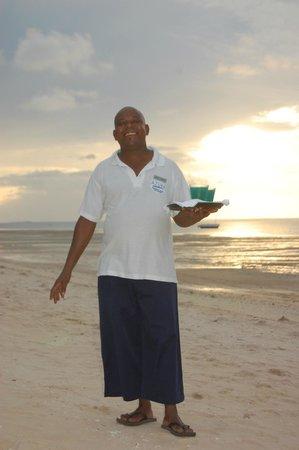 Azura Benguerra Island: Our Mozambique host - Arao