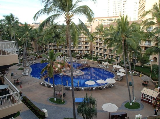 Villa del Palmar Beach Resort & Spa : The view from our 5th floor deck