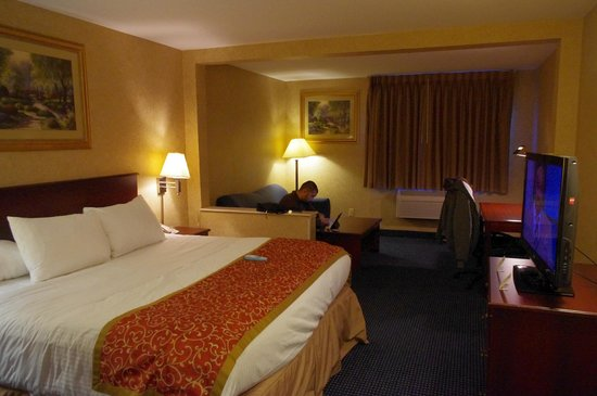 Best Western St. Louis Inn: Chambre spacieuse