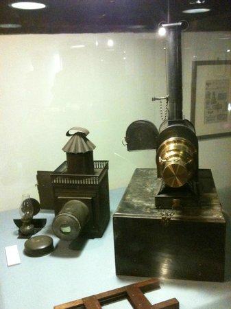 Museo del Precinema : Magic lanterns