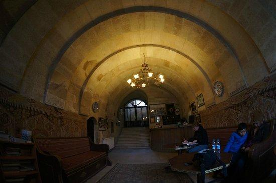 Cappadocia Palace: Nice reception