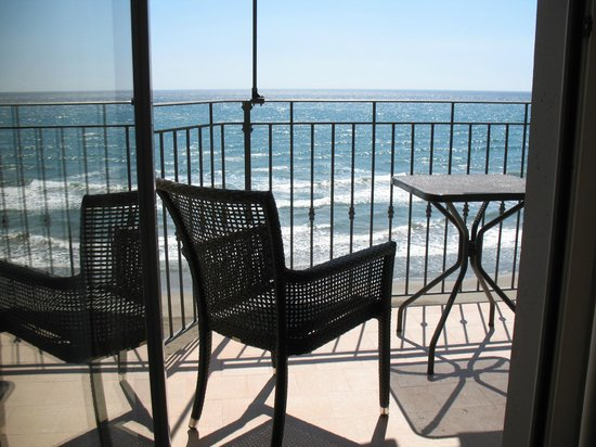 Palace Hotel : una veduta dalla camera sul Golfo di Diano Marina