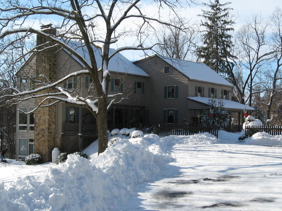 Blair Mountain Bed & Breakfast: Let it Snow!!