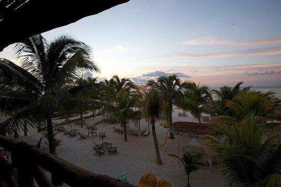 Holbox Hotel Casa las Tortugas - Petit Beach Hotel & Spa: View from Room