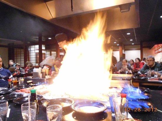 Sakura Sushi & Teppanyaki: more Fire!!