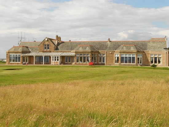 Royal Troon Golf Club House And 18th Green