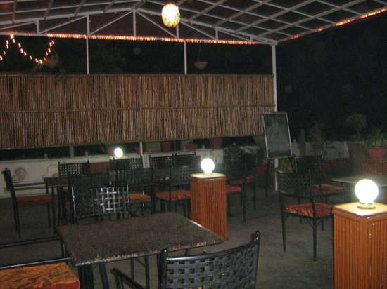 Chitra Katha: Dining space - rooftop restaurant.