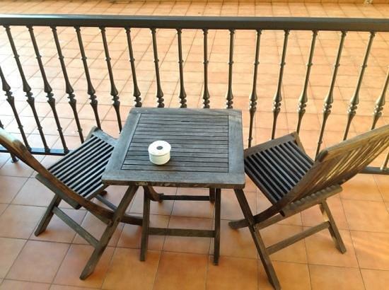 Talaso Atlantico: HABITACION 110 terraza