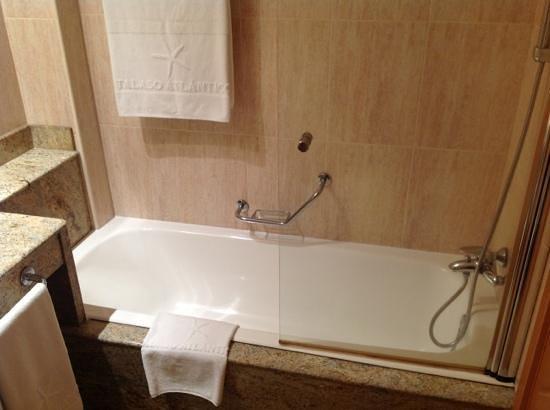 Talaso Atlantico: baño