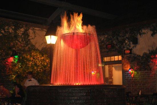 Pat O'Brien's Orlando: Flaming Fountain 2