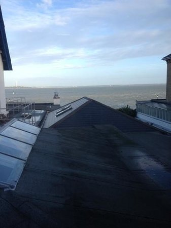 Best Western New Holmwood Hotel: sea view from room.