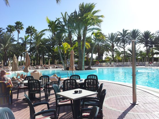 Aparthotel Riu Flamingo: Riu Flamingo pool view