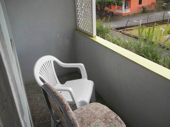 Cocrico Inn: balcony