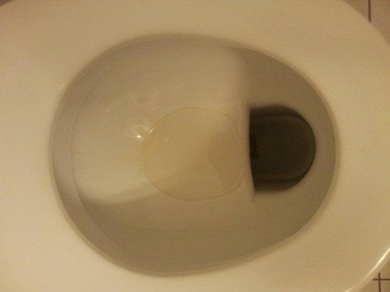 Novum Hotel Lichtburg am Kurfuerstendamm: wc unhygienisch wird nie gereinigt