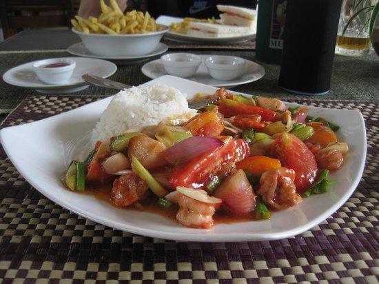 Unawatuna Nor Lanka Hotel: Pranzo