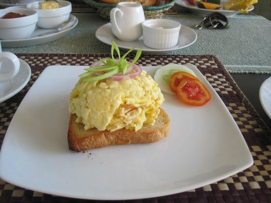 Unawatuna Nor Lanka Hotel: Colazione